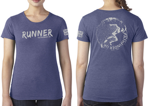 RUNNER Ladies T-Shirt - Vintage Royal