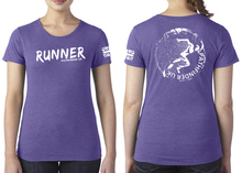 Load image into Gallery viewer, RUNNER Ladies T-Shirt - Purple Rush
