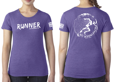 RUNNER Ladies T-Shirt - Purple Rush