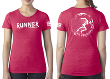 Load image into Gallery viewer, RUNNER Ladies T-Shirt - Vintage Red