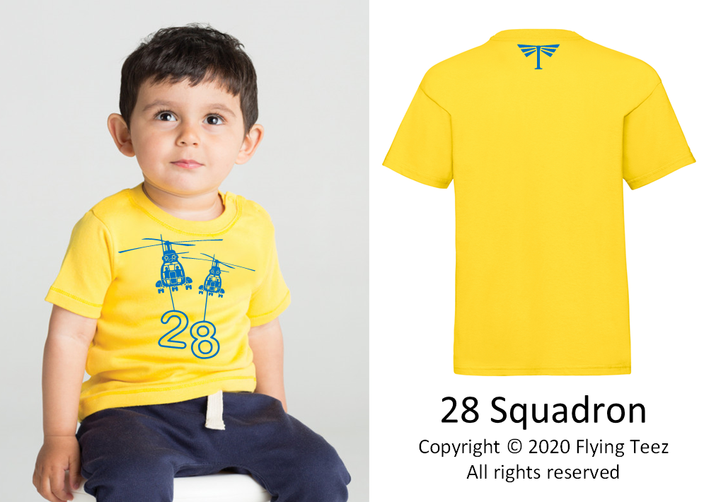 FLYING TEEZ - Baby Puma Squadron T-Shirt