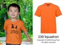 Load image into Gallery viewer, FLYING TEEZ - Baby Puma Squadron T-Shirt