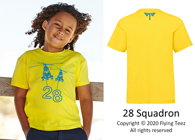 FLYING TEEZ - Child Puma Squadron T-Shirt