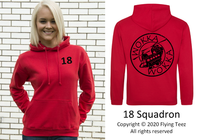 FLYING TEEZ - Adult Chinook Squadron Hoodie