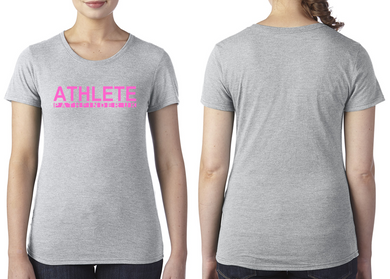 SALE - ATHLETE Ladies T-Shirt - X Large (16)