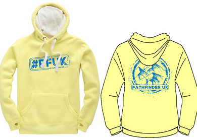 #PFUK Unisex Heavyweight Hoodie - Lemon Drop
