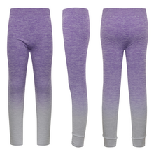 Load image into Gallery viewer, PFUK Children's Seamless Fade-Out Workout Leggings
