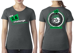 2.6 CHALLENGE Charity Ladies T-Shirt