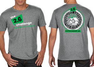 2.6 CHALLENGE Charity Men's T-Shirt