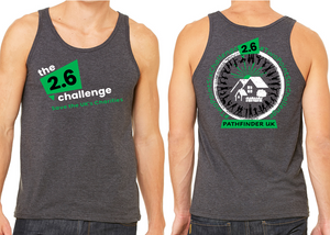 2.6 CHALLENGE Charity Men's Running Vest