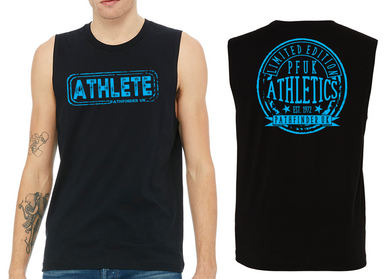 ATHLETE Men's Muscle Tank - Black