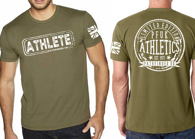 ATHLETE Men's T-Shirt - Military Green