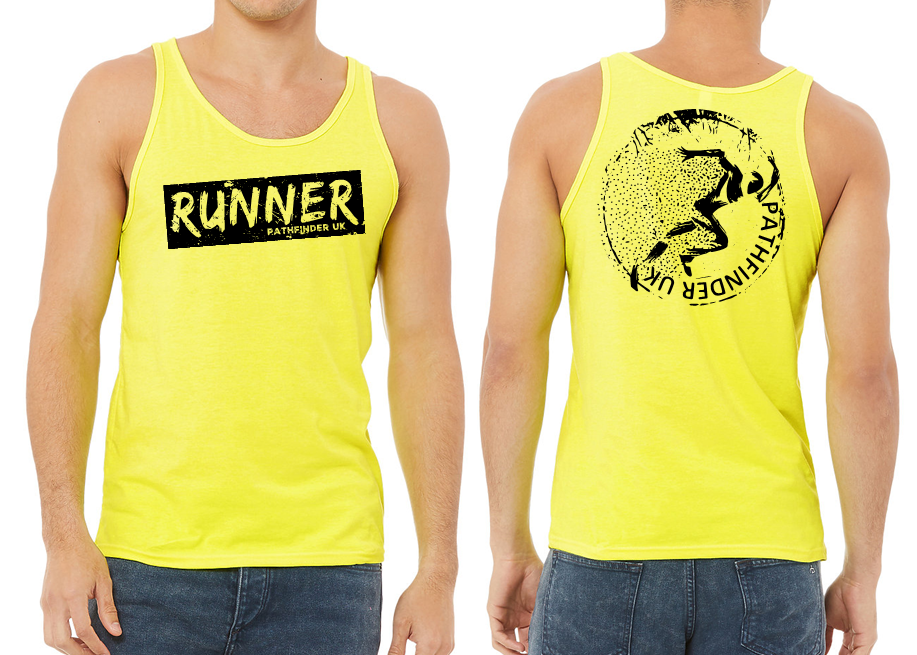 RUNNER Men's Running Vest - Neon Yellow