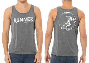 RUNNER Men's Running Vest - Grey