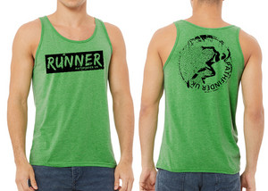 RUNNER Men's Running Vest - Green