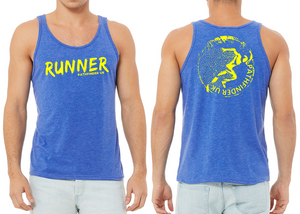 RUNNER Men's Running Vest - Royal