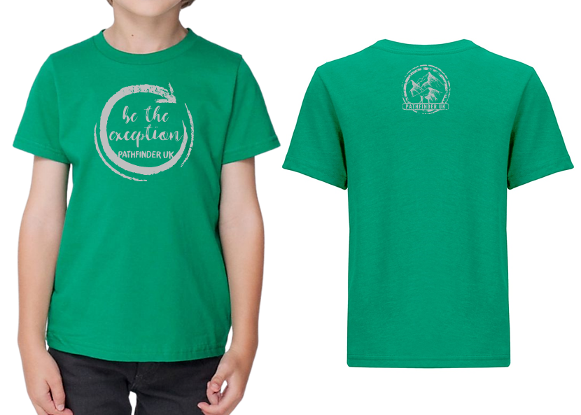 MINI PATHFINDER Children's T-Shirt - Kelly Green