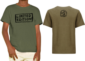 MINI PATHFINDER Children's T-Shirt - Military Green