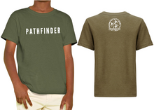 Load image into Gallery viewer, MINI PATHFINDER Children's T-Shirt - Military Green