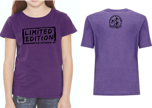 MINI PATHFINDER Children's T-Shirt - Purple Rush