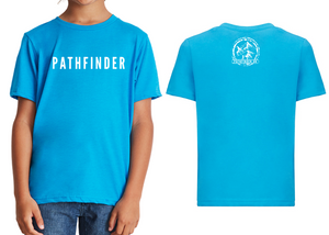 MINI PATHFINDER Children's T-Shirt - Turquoise Blue