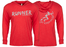 Load image into Gallery viewer, RUNNER Unisex T-Shirt Hoodie - Vintage Red