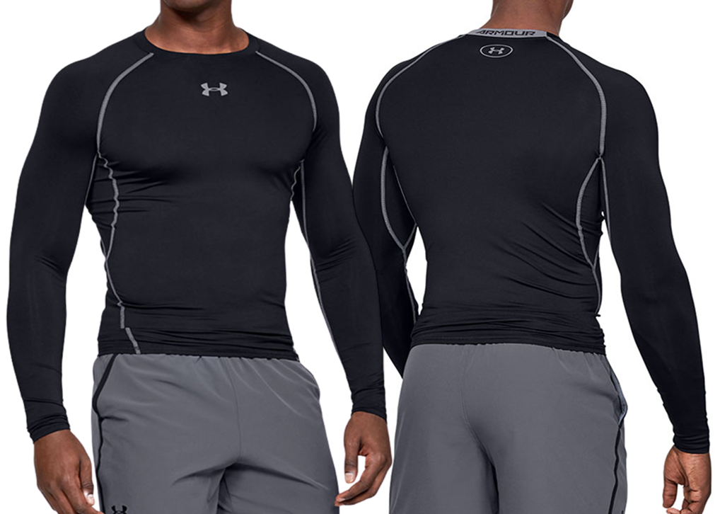 UNDER ARMOUR Men's HeatGear® Compression Top - Long Sleeves