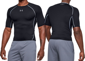 UNDER ARMOUR Men's HeatGear® Compression Top - Short Sleeves