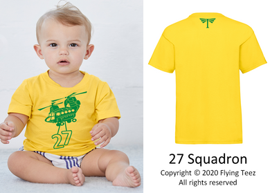 FLYING TEEZ - Baby Chinook Squadron T-Shirt