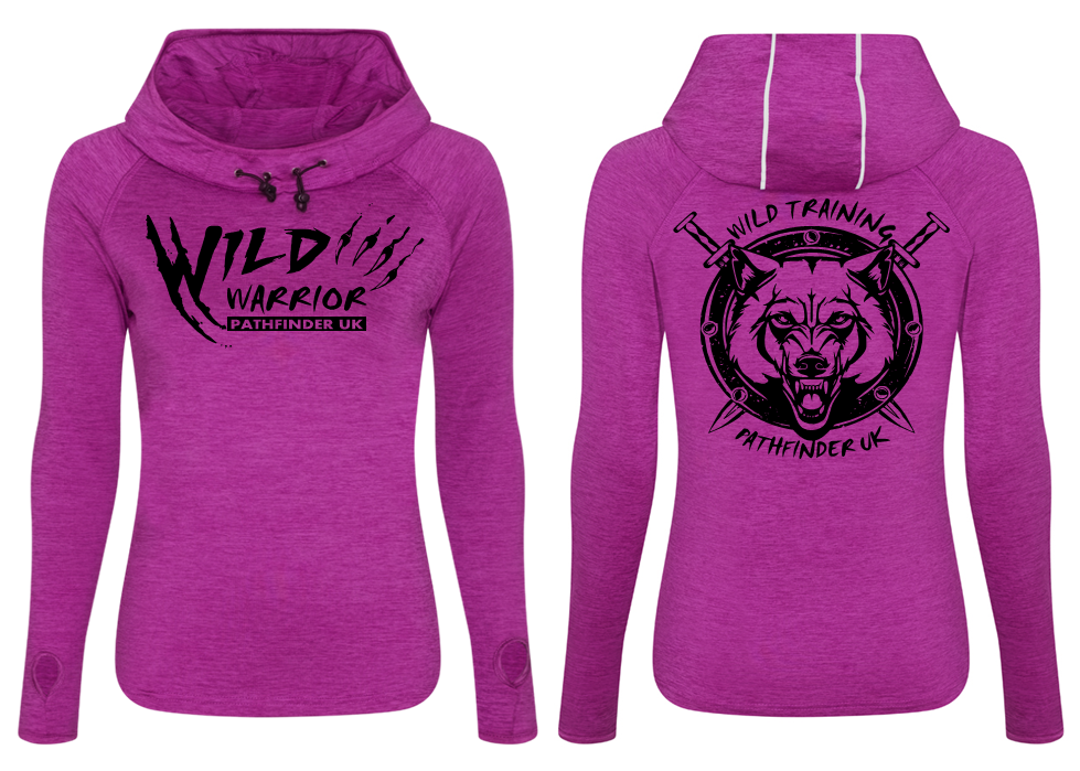 WILD WARRIOR by PATHFINDER Ladies Cowl Neck Top
