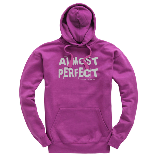 ALMOST PERFECT - Unisex Hoodie - Size Small
