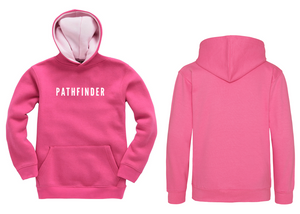 MINI PATHFINDER Children's Hoodie - Fuschia
