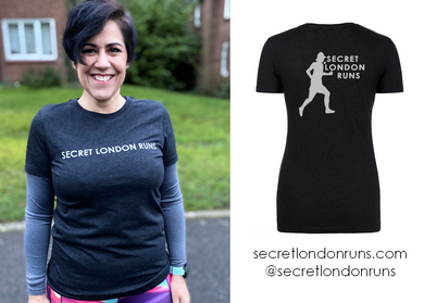 SECRET LONDON RUNS - Vintage Black T-Shirt (Order via SLR website)