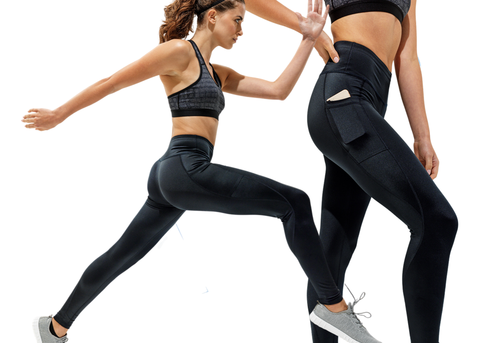PFUK Ladies Training Leggings - High Shine