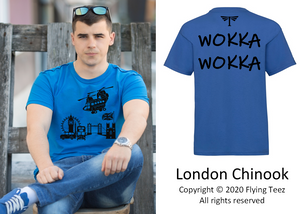 FLYING TEEZ - Adult Chinook London T-Shirt