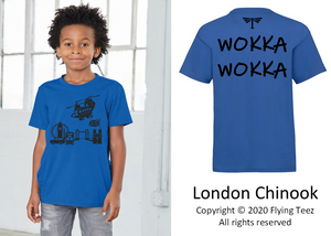 FLYING TEEZ - Child Chinook London T-Shirt