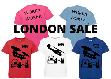 FLYING TEEZ - Baby & Child London T-Shirt SALE