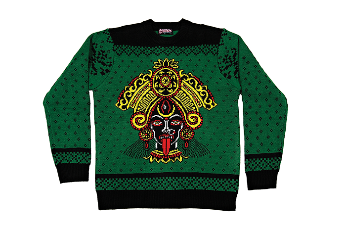 Kali Yuga Christmas Sweater [CHAD KOEPLINGER X SHREDDERS APPAREL]