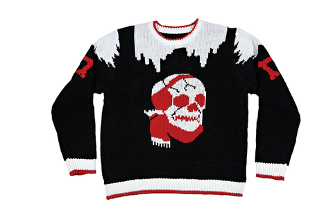 80's Knit Chilled To The Bone Sweater