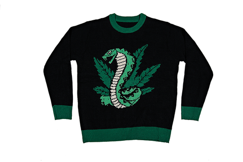 Roger X Shredders Weed And Cobras Sweater