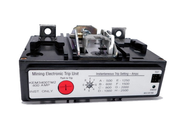 KEM3150T Trip Unit, K Frame Style, Electronic, Long/Instantaneous, 150 Ampere at 40 Degree Celsius, 3 Pole, 50-800 Amp Trip Rating, For Use in Molded Case Circuit Breakers With Optional Interchangeable Trip Units. 1 Year Warranty.