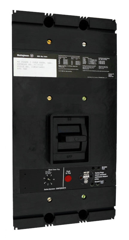 MC3400 (MC3800F w400 Amp Rating Plug)