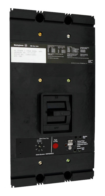 MC3400M (MC3800FM w400 Amp Rating Plug)