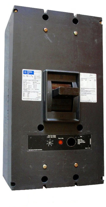 PC32000F (Frame Only) PC Frame Style, Molded-Case Circuit Breaker, 3 Pole, 600VAC @ 50/60HZ, Rear Connected, Frame Rated at 2000 Ampere, Frame Only (No Rating Plug Included). New Surplus and Certified Reconditioned with 1 Year Warranty.