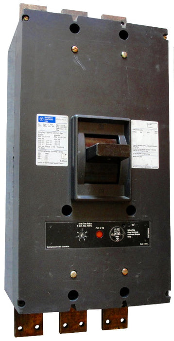 PCF31400 PC Frame Style, Molded-Case Circuit Breaker, Seltronic Solid State Electronic Trip Unit, 1400 Ampere at 40 Degree Celsius, 3 Pole, 600VAC @ 50/60HZ, Front Connected, Complete Breaker with Rating Plug Installed. New Surplus and Certified Reconditioned with 1 Year Warranty.