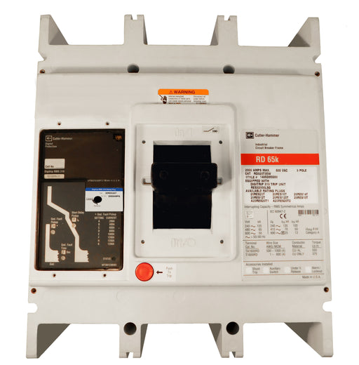 RD320T35W RD Frame Style, Molded Case Circuit Breaker, Electronic Non-Interchangeable Trip Unit(Digitrip RMS 310), (LSG)Trip Unit Functions, 2000 Ampere at 40 Degree Celsius, 3 Pole, 600VAC @ 50/60HZ, Without Terminals. New Surplus and Certified Reconditioned with 1 Year Warranty.