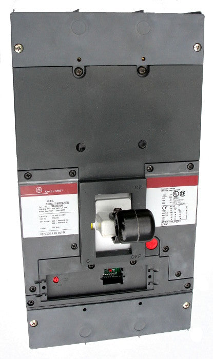 SKLA36AT1200 SK1200 Frame Style, Molded Case Circuit Breaker, Thermal Magnetic Non-Interchangeable Trip Unit, 1200 Ampere Maximum at 40 Degree Celsius, 3 Pole, 600VAC @ 50/60HZ, Terminals Not Included. New Surplus and Certified Reconditioned with 1 Year Warranty.