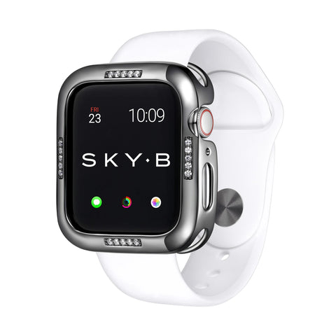 SKY.B | Handcrafted Jewelry Apple Watch® Case - Dash Gunmetal