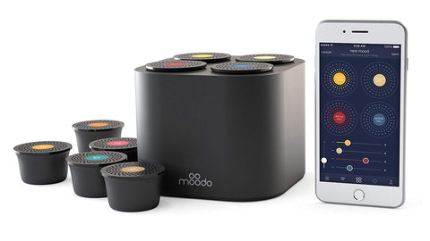 Moodo Smart Aroma Diffuser | Personalize the Scent of Your Home