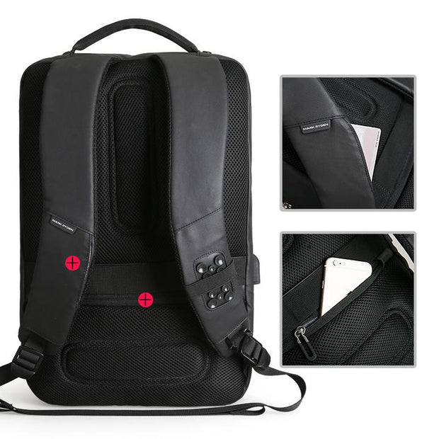 Mark Ryden | Quatro USB Charging Laptop Backpack